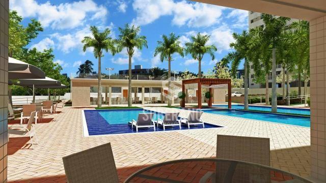Apartamento com 3 dormitórios à venda, 78 m² por R$ 377.266 - Bancários - João Pessoa/PB - Foto 10
