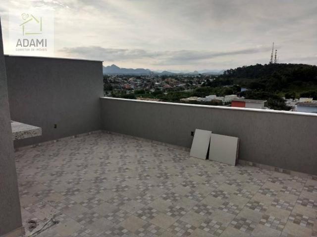 Triplex 2 ou 3 Qts - Acabamento Alto Padrão - Linda vista do Mar, Serra e Cidade - Foto 15