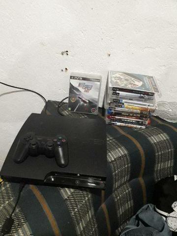 PS3 COM 11 JOGOS.