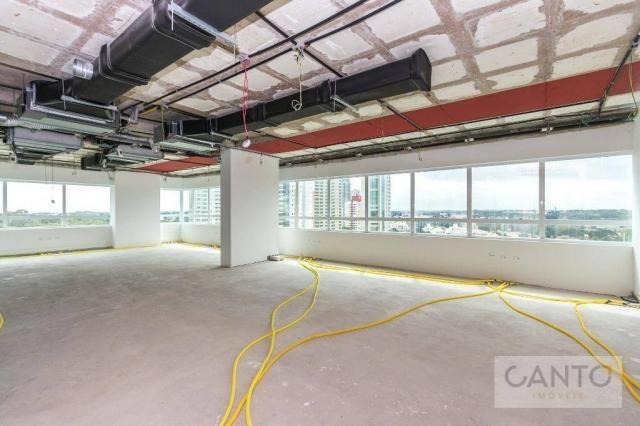 Laje/sala comercial para venda e locação no EuroBusiness, Ecoville, Curitiba - LEED Platin - Foto 16