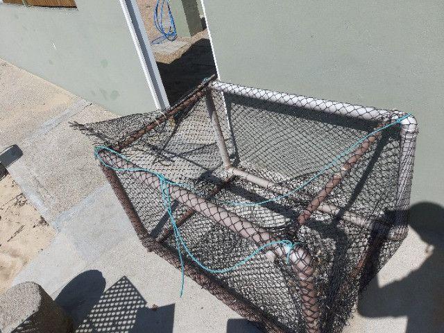 Gaiola pra Pescar Siri, baixou - Foto 2