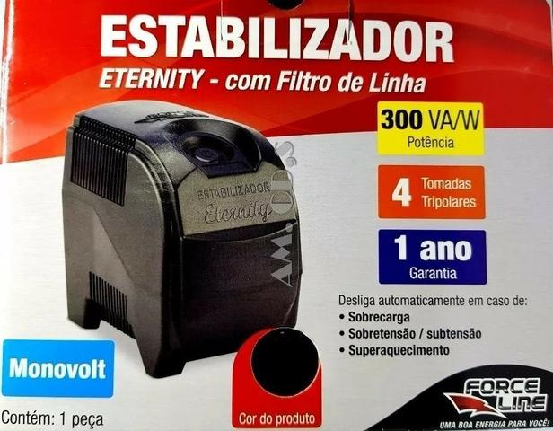Estabilizador Force Line 300va/w