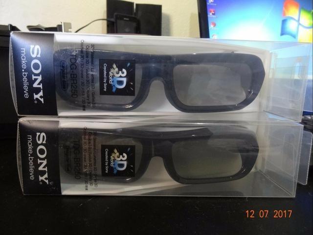Oculos 3d sony