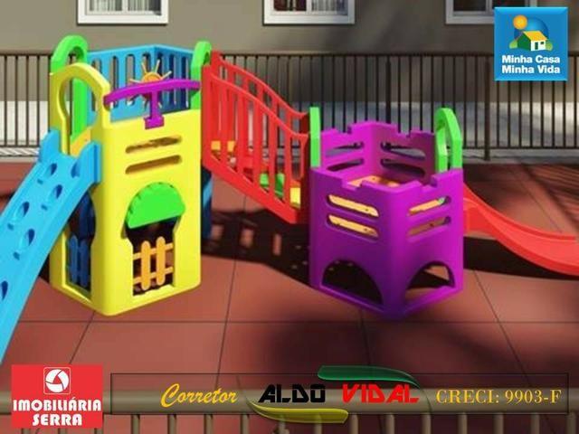 ARV 99 Apartamento 2 Quartos Novo Pronta Entrega. Praia Balneário Carapebus, Serra - Foto 15
