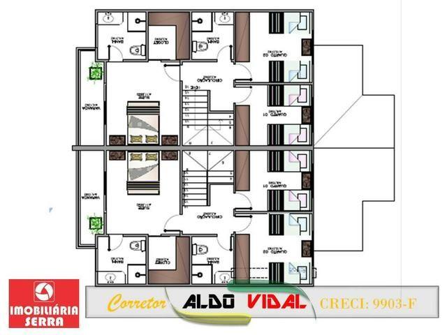 ARV 109. Casa 3 quartos em Área Nobre de Morada de Laranjeiras Finalizando Obras - Foto 19