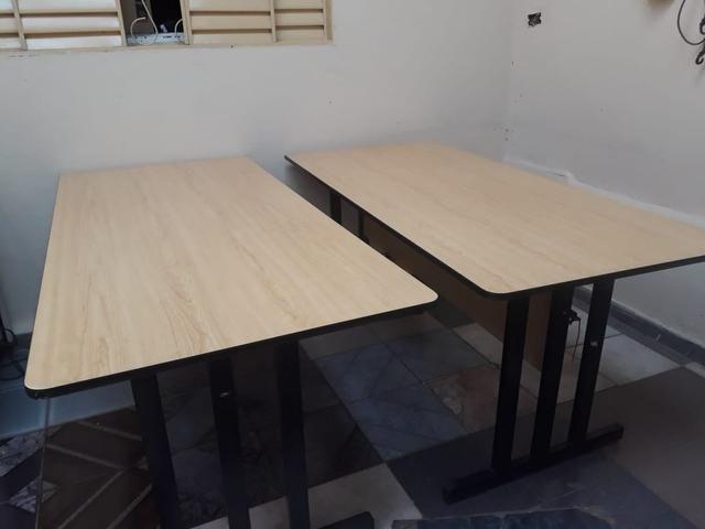 2 mesas para escritório - Foto 2
