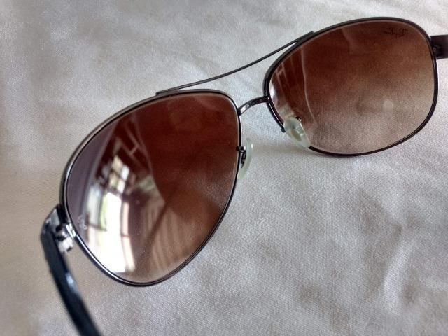 Óculos de Sol Ray Ban Aviador Original USA Modelo 004/13 - Foto 3