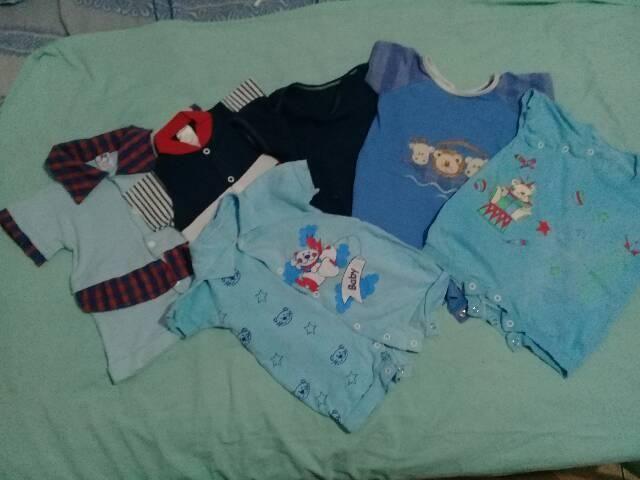 Lote de roupas de bebê menino (37 Itens) - Foto 4