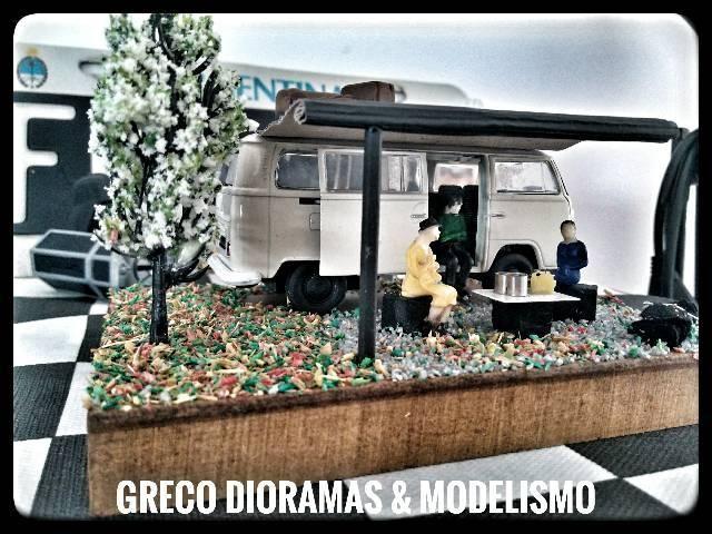 "Diorama - ""VW Kombi Acampamento"""