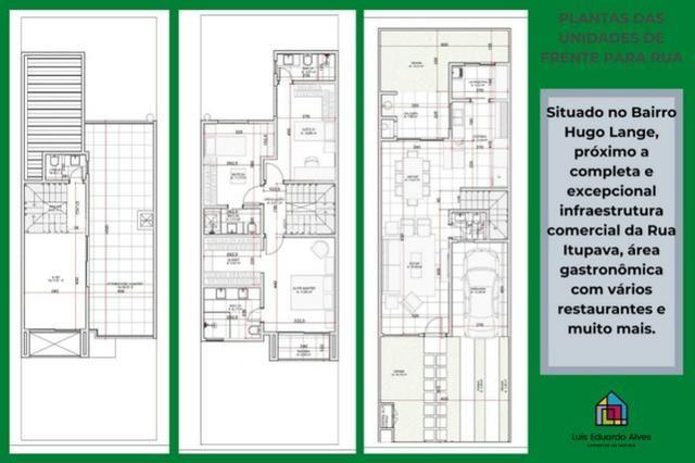 Sobrados a Venda no Hugo Lange Arquitetura Moderna - Foto 2