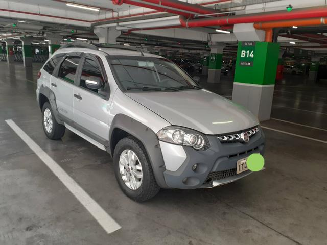 Palio weekend adv 1.8 gnv
