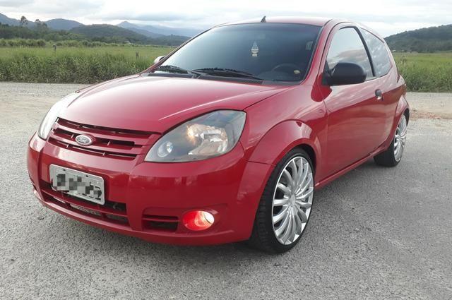 Ford Ka 1.0 2009 completo legalizado baixo - Foto 6