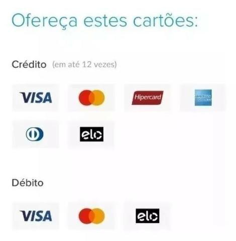 Máquina De Cartão Débito E Crédito Point Mini - Mercado Pago - Foto 2