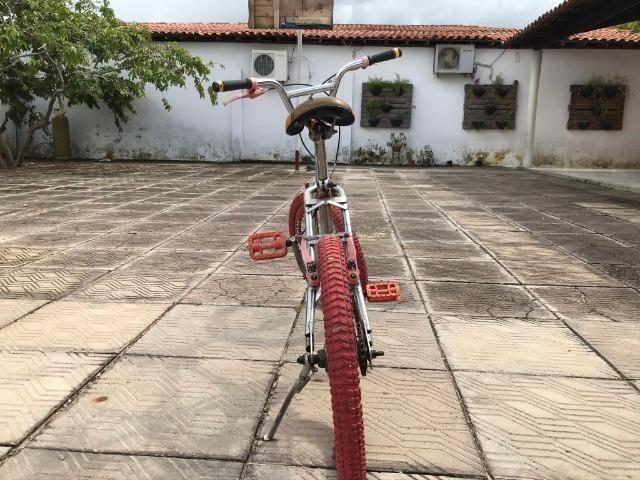 Bicicleta Pers. Vermelha - Foto 4
