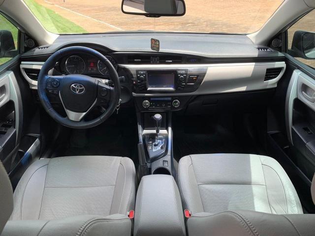 COROLLA 2014/2015 2.0 XEI 16V FLEX 4P AUTOMÁTICO - Foto 8