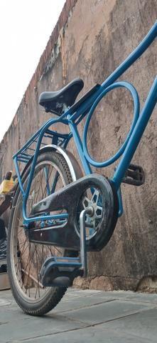 Troco ou vendo bicicleta monark cachinbada original - Foto 5