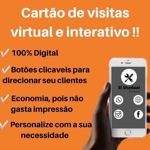 Cartão de visitas interativo!!