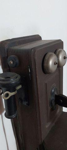 Raro telefone Kellogg começo século XX - Foto 4