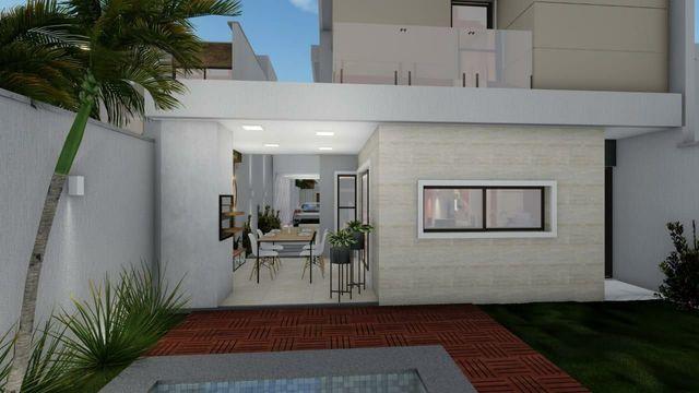 Casa de alto  padrão, 4 suítes,  3 vagas, rua privativa, lote 8 m de largura  - Foto 4