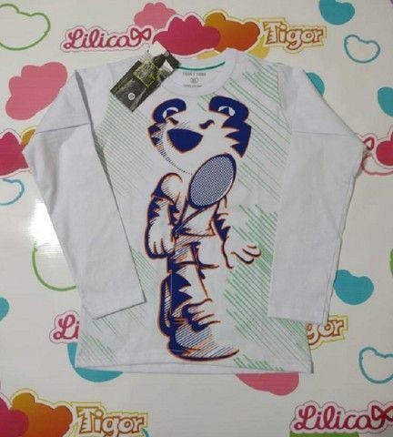 Camiseta Manga Longa Tigor - Foto 6