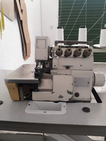 Maquina reta e máquina interlock industrial - Foto 4