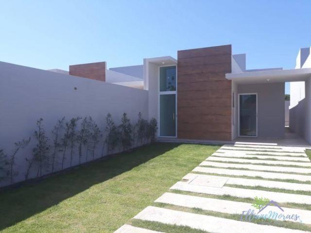Casa com 3 dormitórios à venda, 85 m² por R$ 249.000,00 - Encantada - Eusébio/CE - Foto 2