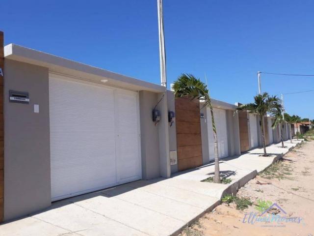 Casa com 3 dormitórios à venda, 85 m² por R$ 249.000,00 - Encantada - Eusébio/CE - Foto 17