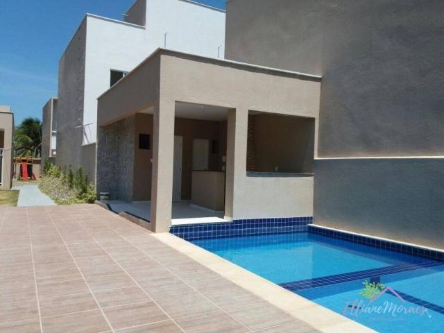 Casa com 2 dormitórios à venda, 69 m² por R$ 220.000,00 - Tamatanduba - Eusébio/CE - Foto 7