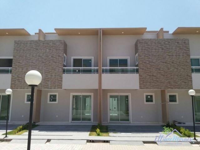 Casa com 2 dormitórios à venda, 69 m² por R$ 220.000,00 - Tamatanduba - Eusébio/CE