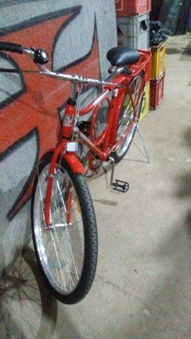 bicicleta nova nunca usada com garupa - Foto 2