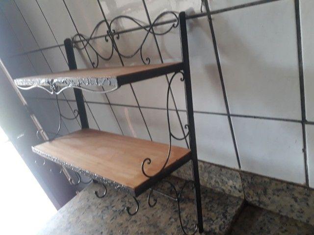 Organizador para cozinha de ferro forjado  - Foto 2