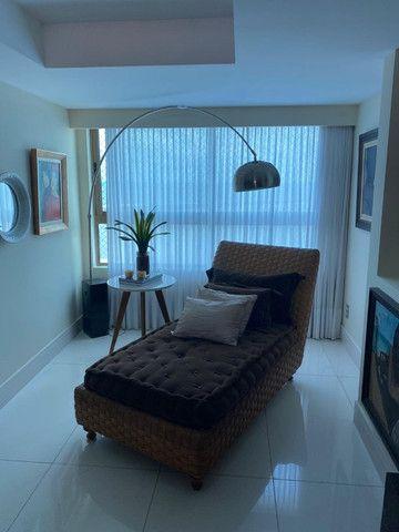 (RBA) Alugo apt. luxuoso, 240m², 3 Suítes, lazer, decorado e mobiliado, vista incrível! - Foto 9