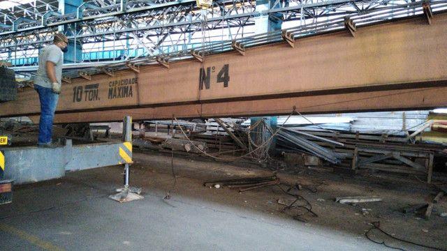 Ponte Rolante Mendes Junior 10 Toneladas 22 Metros De Vão - Foto 3