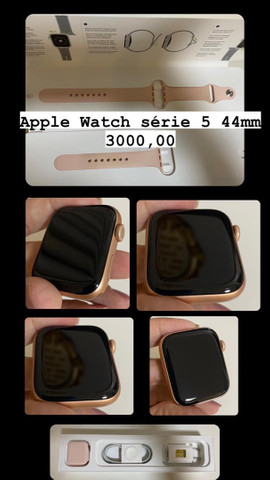 Apple Watch series 5 44mm rosa