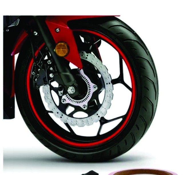 adesivos rodados de moto - Foto 5