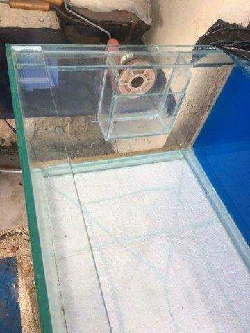 Aquário vidro 144 litros  - Foto 2