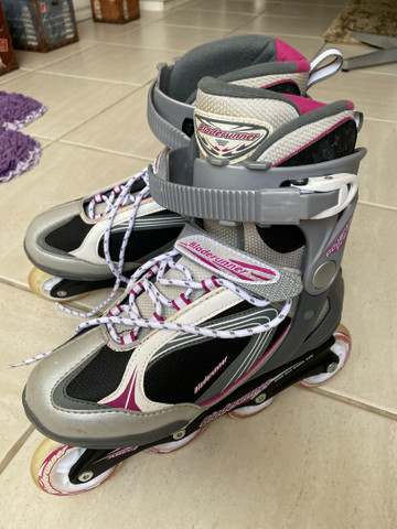 Patins roller in line importado USA powerblade - Foto 2