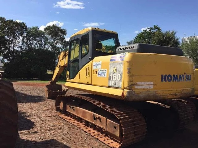 Escavadeira Hidraulica Komatsu Pc 160, Ano 2011 - Foto 2