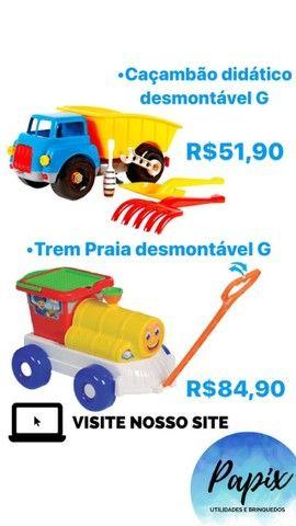 Diversos Brinquedos de Praia -10% Desc.,*Brinquedos Novos* - Foto 3
