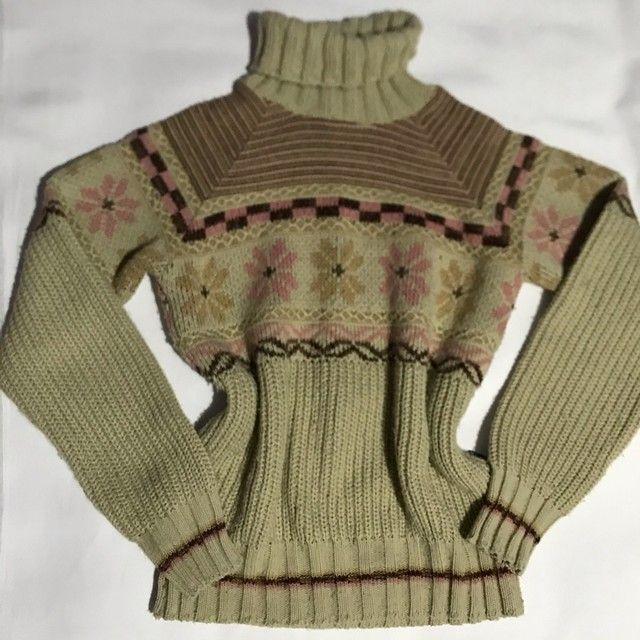 Blusa de lã mais grossinha  - Foto 4