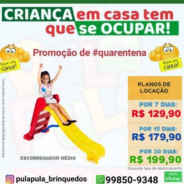 Brinquedos de playground em promoção por 7, 15 e 30 dias - Foto 4