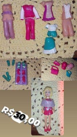 Brinquedos da Polly e seus acessórios - Foto 5