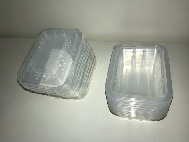Pote de plástico recipiente  - Foto 2