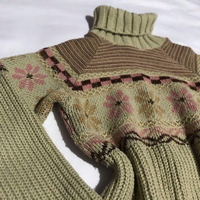 Blusa de lã mais grossinha