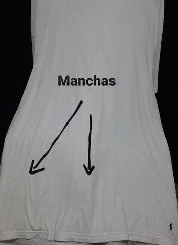 Camiseta de malha branca, Ralph Lauren - 2XL.<br><br> - Foto 4