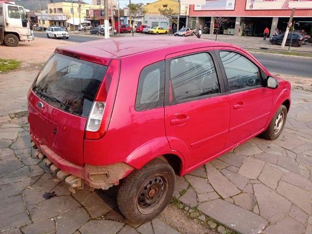 Sucata Peças Ford Fiesta zetec rocam completo compressor caixa - Foto 9