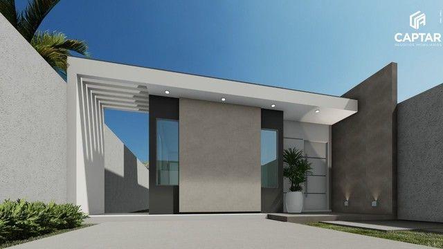 Casa à venda com 2 quartos, sendo 1 suíte, 1 vaga de garagem, murada, toda na laje, portõe - Foto 2