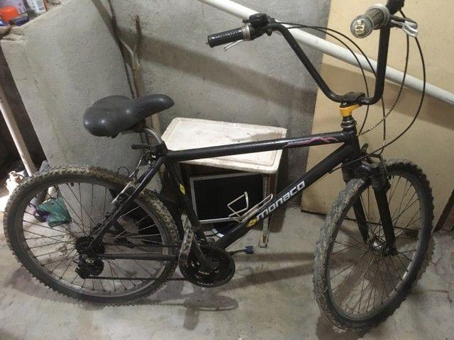 Bicicleta aro 29 quadro em alumínio  - Foto 3