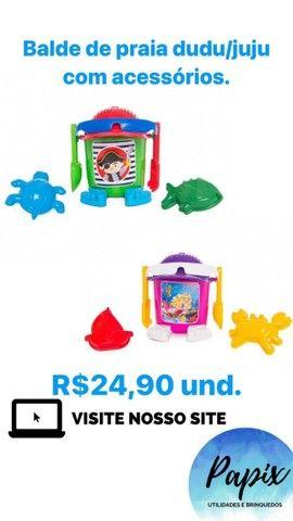 Diversos Brinquedos de Praia -10% Desc.,*Brinquedos Novos* - Foto 2