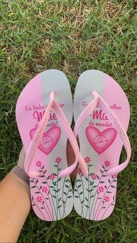 Sandálias havaianas - homenagem dia das mães - Foto 2
